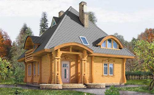 Деревянный дом – надежность, красота, долговечность