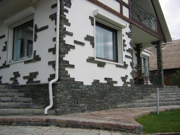 Декоративная отделка фасада дома – что это?
