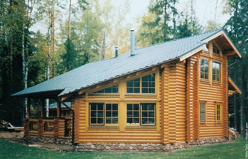Основная технология строительства дома из бревен