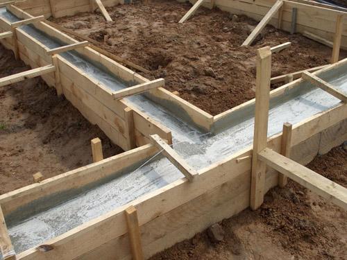 Выбор типа фундамента при строительстве дома